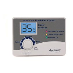 Aprilaire Humidifier Control Panel