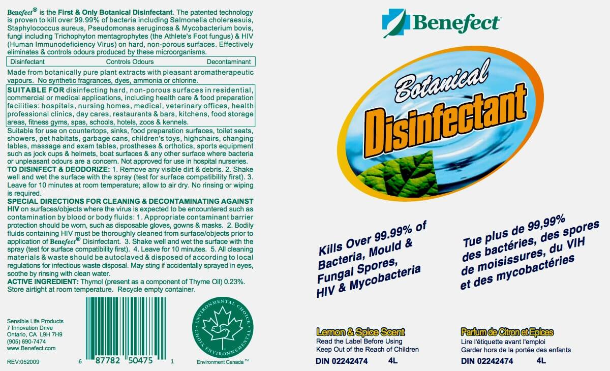 Home Disinfectant Natural